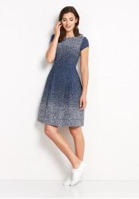 Dress 1135 (navy blue)