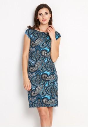 Sukienka 1444 (z zielenią)