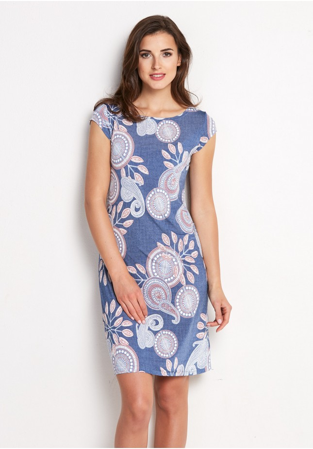 Sukienka 1440 (niebieska)