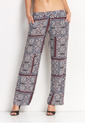 Loose patterns Pants
