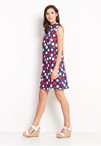 Sukienka 1146 (czerwone kropki)
