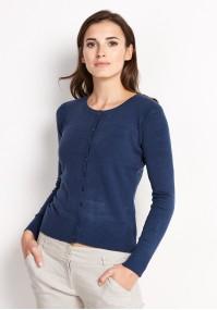 Sweter 8718 (granatowy)