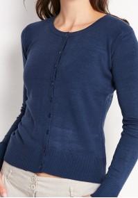 Klasyczny granatowy sweter