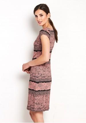Salmon Dress