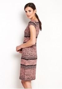 Sukienka 1424 (łososiowa)