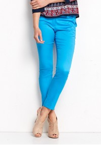 Niebieskie bawełniane Spodnie