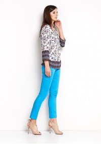 Cotton blue Pants