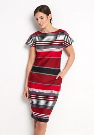 Sukienka 1415 (czerwona)