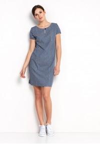 Sukienka 1043 (granatowa)