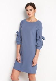 Elegancka błękitna Sukienka