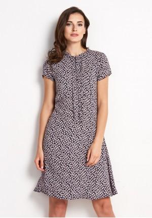 Sukienka 1034 (z czerwienią)