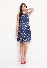 Sukienka 1106 (różowa)