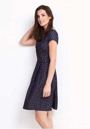 Sukienka 1108 (czerwone łezki)