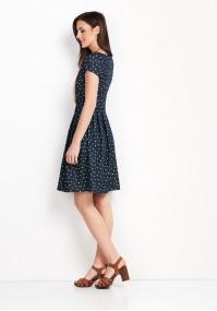 Sukienka 1108 (zielone łezki)