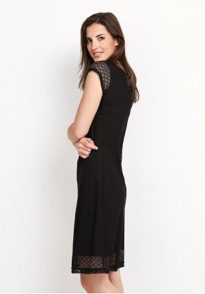 Sukienka 1422 (czarna)