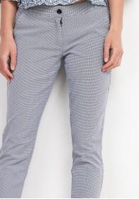 Jasne Spodnie w krateczkę