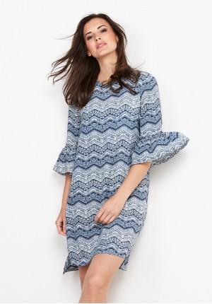 Sukienka 1791 (niebieska)