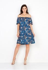 Sukienka 1492 (granatowa)