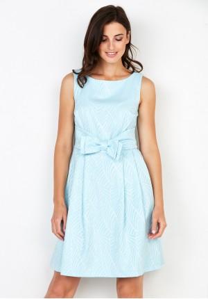 Sukienka 1107 (błękitna)