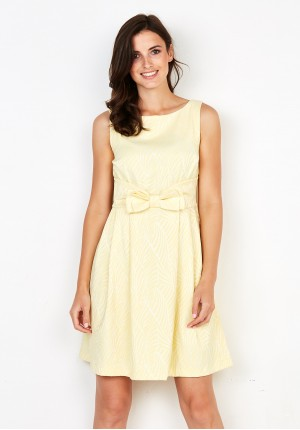 Sukienka 1107 (żółta)
