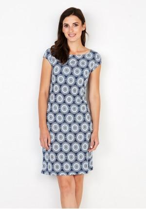 Sukienka 1420 (niebieska)