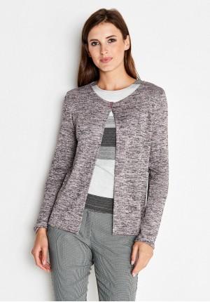 Pink Melange Sweater
