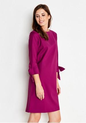 Sukienka 1787 (amarantowa)