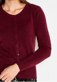 Sweter 8718 (bordowy)