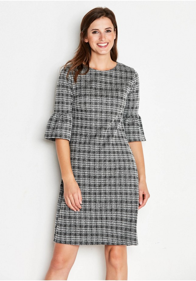 Ellegant checkered Dress
