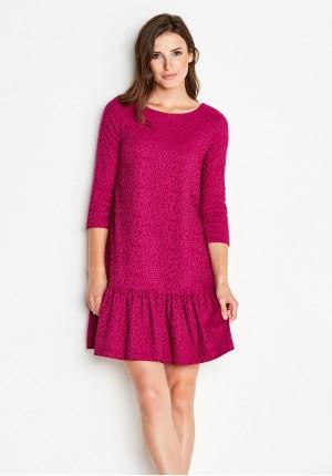 Sukienka 1165 (amarantowa)