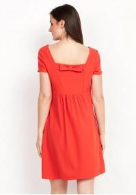 Sukienka z kokardą na plecach