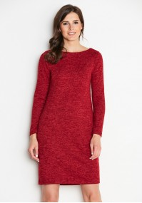 Red Knitted Dress