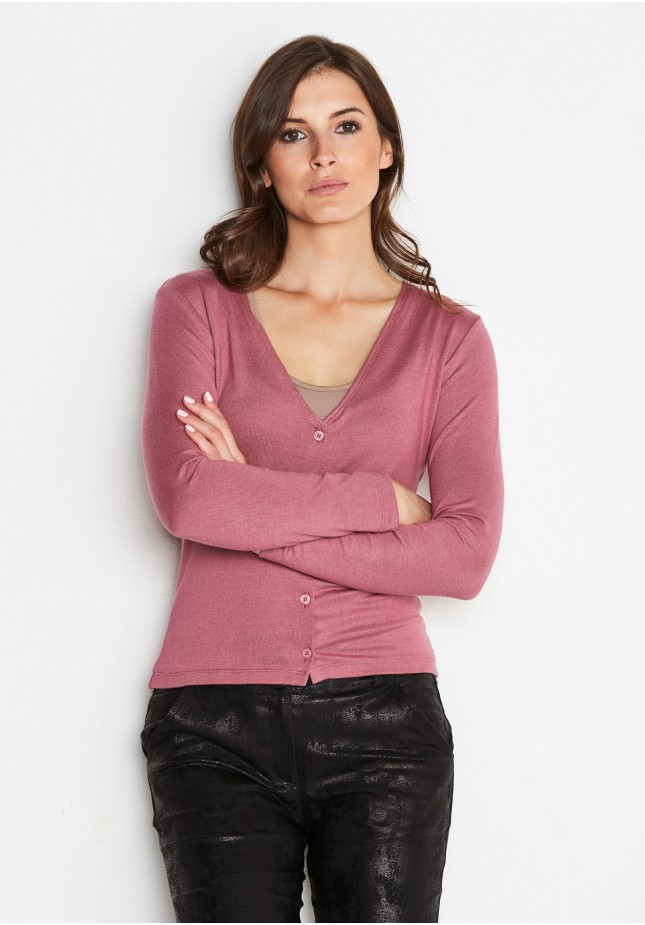 Simple Pink Sweater