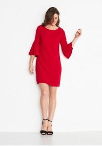 Klasyczna Czerwona Sukienka