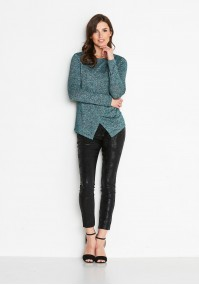 Green Envelope Sweater