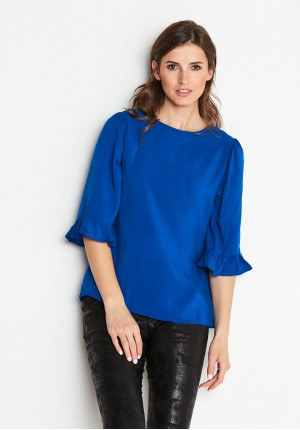 Blouse 3865 (blue)