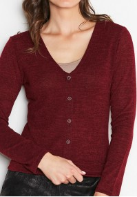 Sweter 8917 (bordowy)