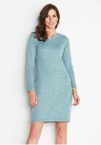 Dress 1923 (aquamarine)