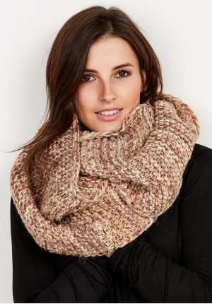 Warm beige Snood