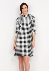 Sukienka 1933 (czarno-biała)