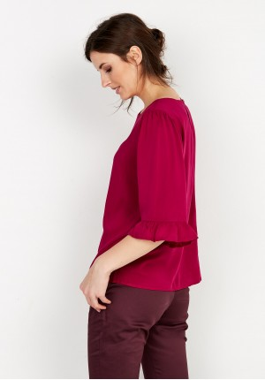 Blouse 3865 (amaranth)