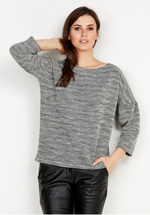 Grey Loose Sweater