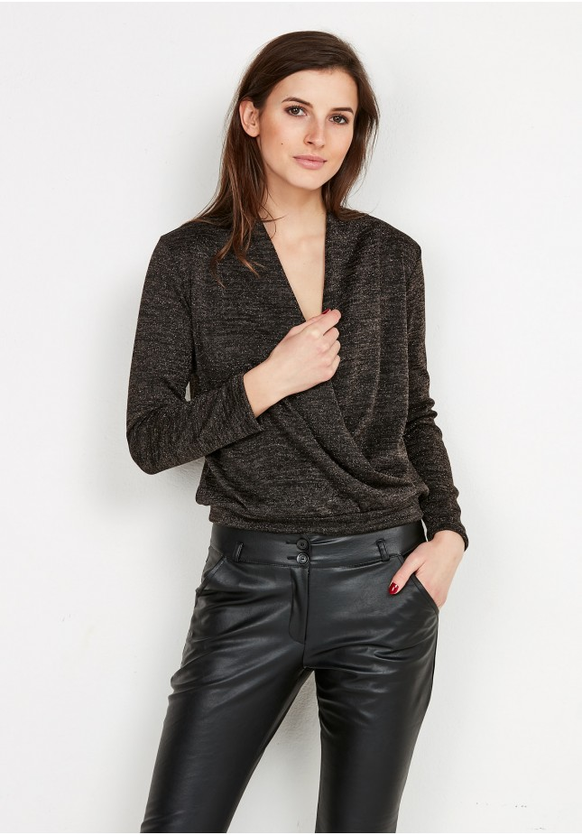 Kopertowy Sweter