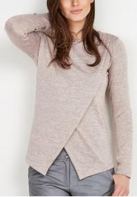 Sweter z zakładką