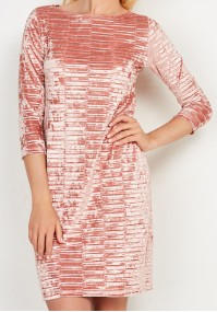 Velvet elegant dress