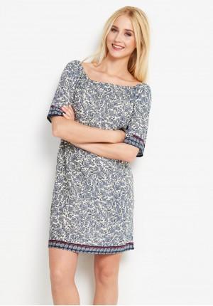 Dress 1210 (navy blue)