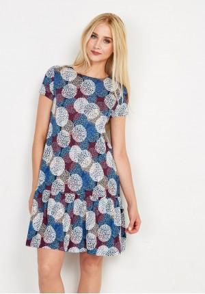Sukienka 1263 (niebieska)
