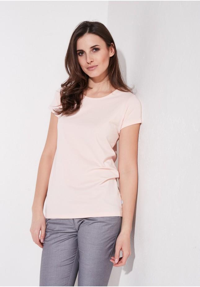 Brzoskwinowa koszulka