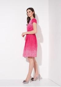 Sukienka 1135 (malinowa)