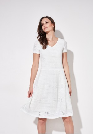 Sukienka 1276 (biała)